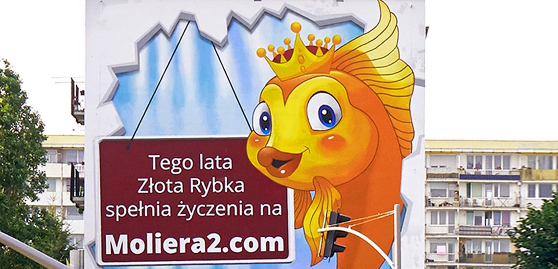 Unikatowy mural Moliera2.com już jest w Gdańsku