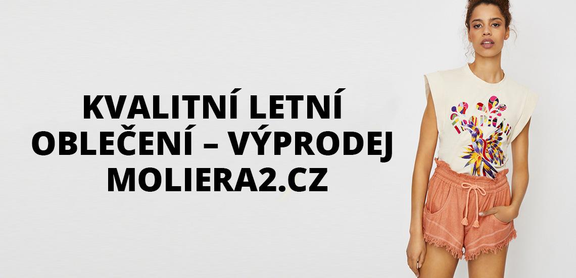 Kvalitní letní oblečení - výprodej Moliera2.cz