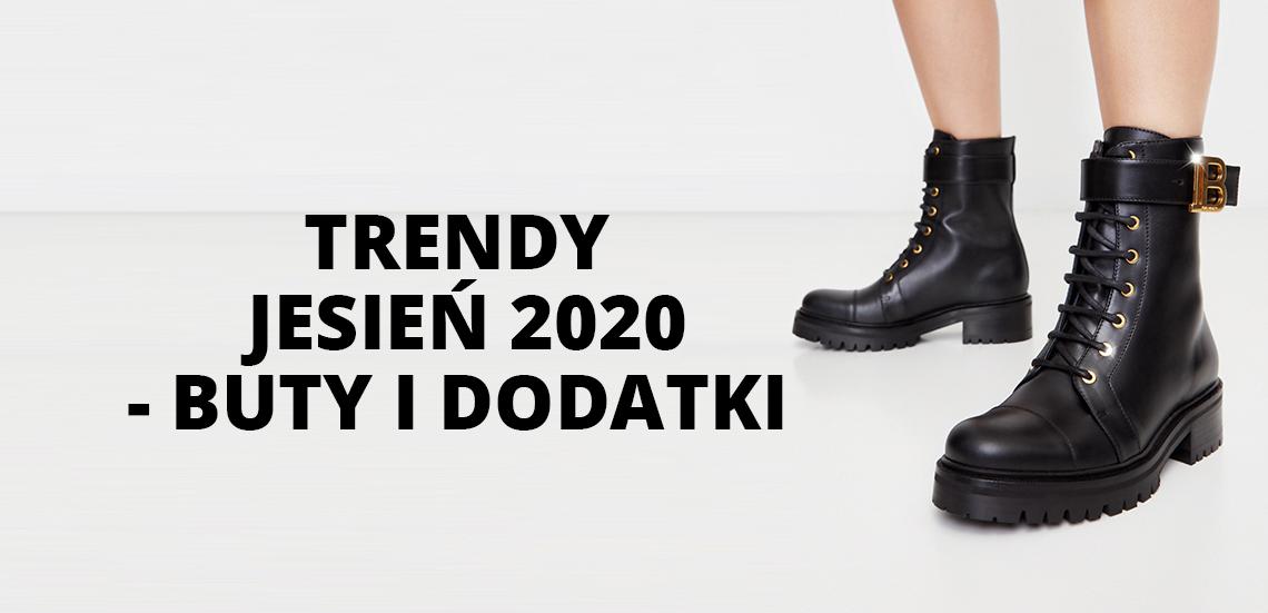 Trendy jesień 2020 - buty i dodatki