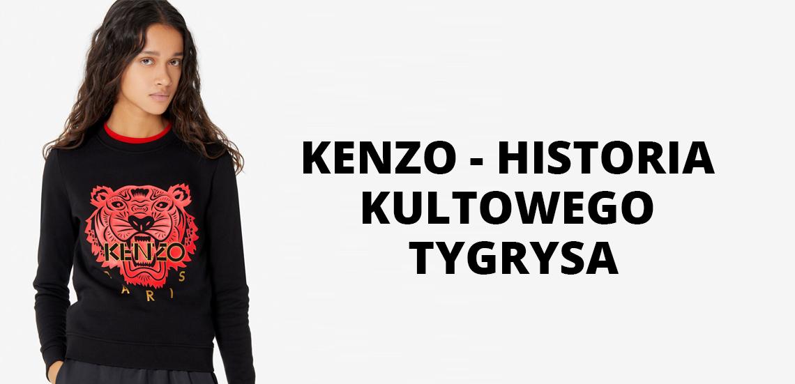 Kenzo - historia kultowego tygrysa