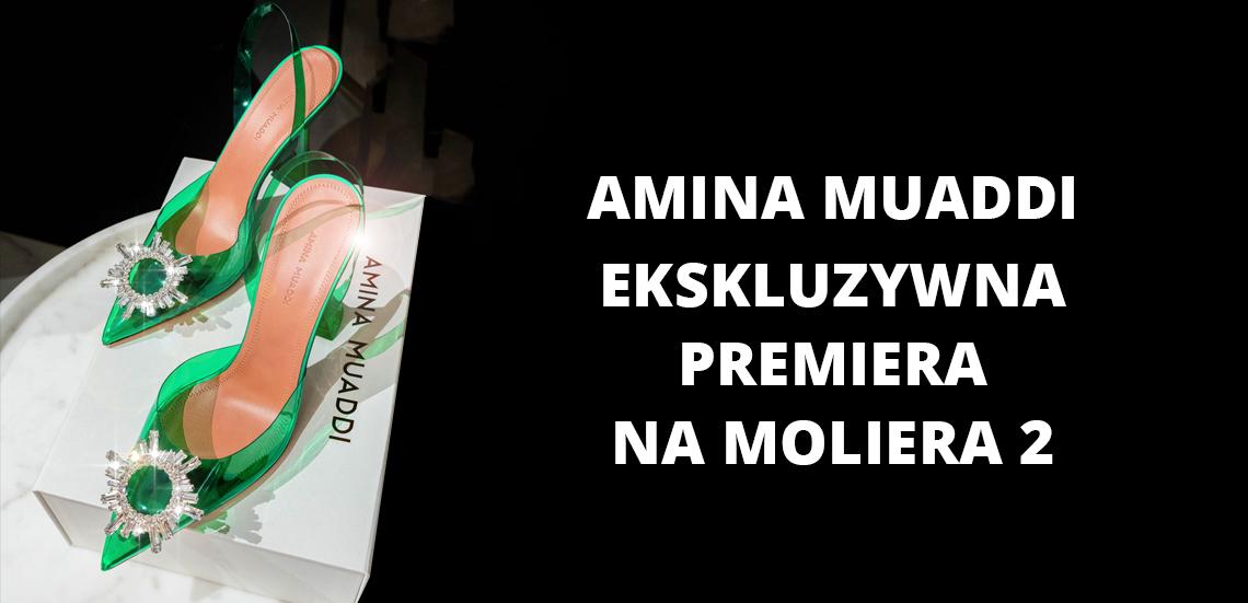 Amina Muaddi - ekskluzywna premiera na Moliera 2