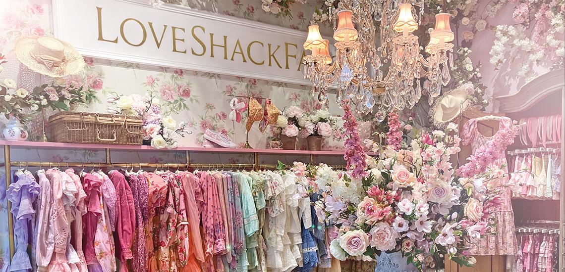 Shop-in-shop LoveShackFancy w Salonie Moliera 2
