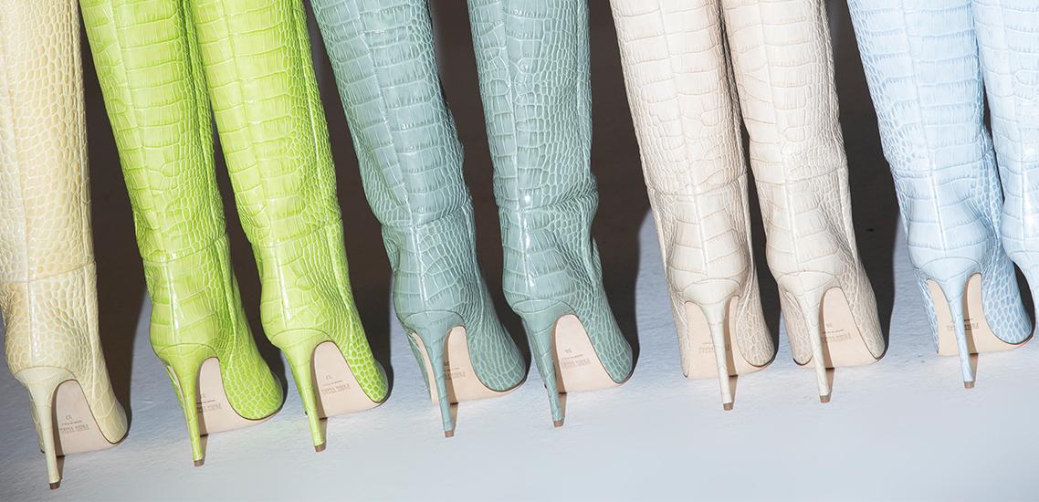 Pięć kultowych rodzajów butów Paris Texas