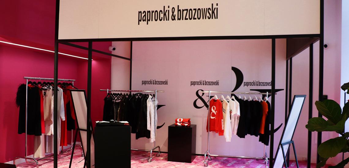 POP-UP STORE paprocki&brzozowski w MOLIERA 2