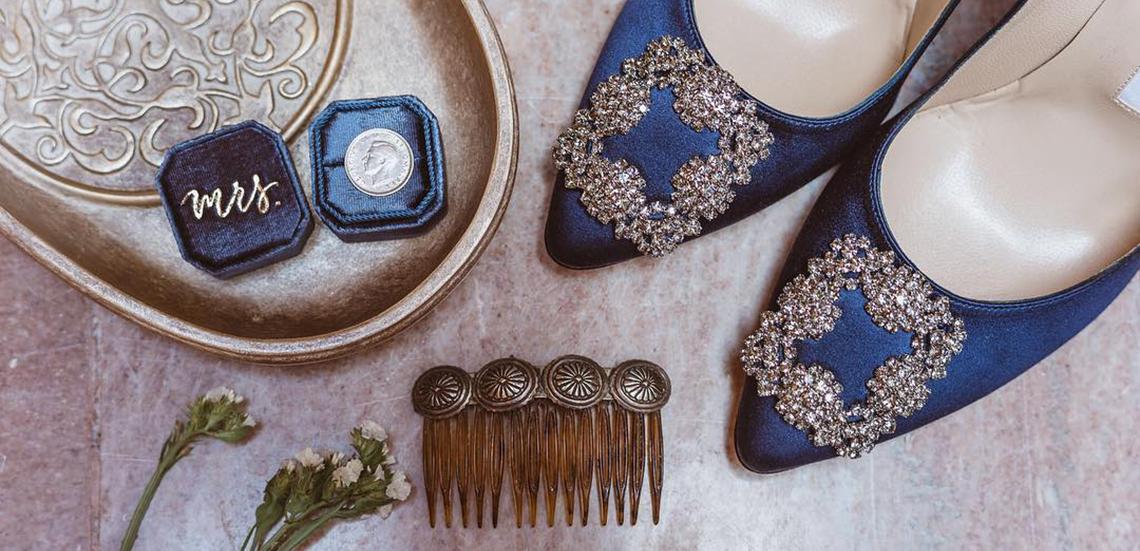 Stylizacje na ślub - buty i torebki