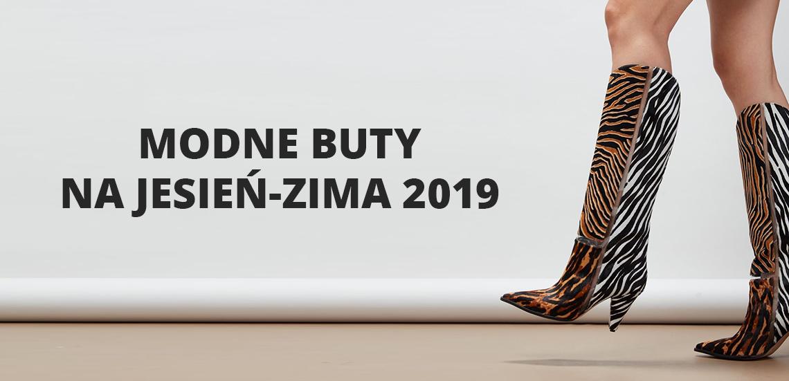 Modne buty na jesień-zima 2019