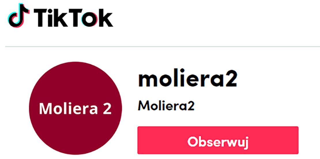 Oficjalne konto Moliera 2 już jest na TikToku!