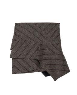 Spódnica mini z wełny i lnu
