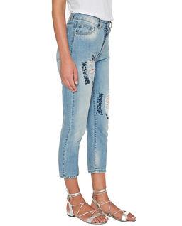 Stonewashed Boyfriend Jeans