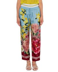 Spodnie Flower & Stripe