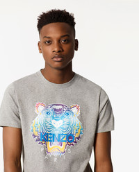 T-Shirt Rainbow Tiger