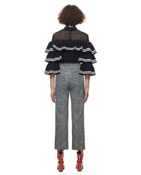 Sweter Striped Frill