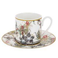 Zestaw 6 filiżanek do kawy Flowers