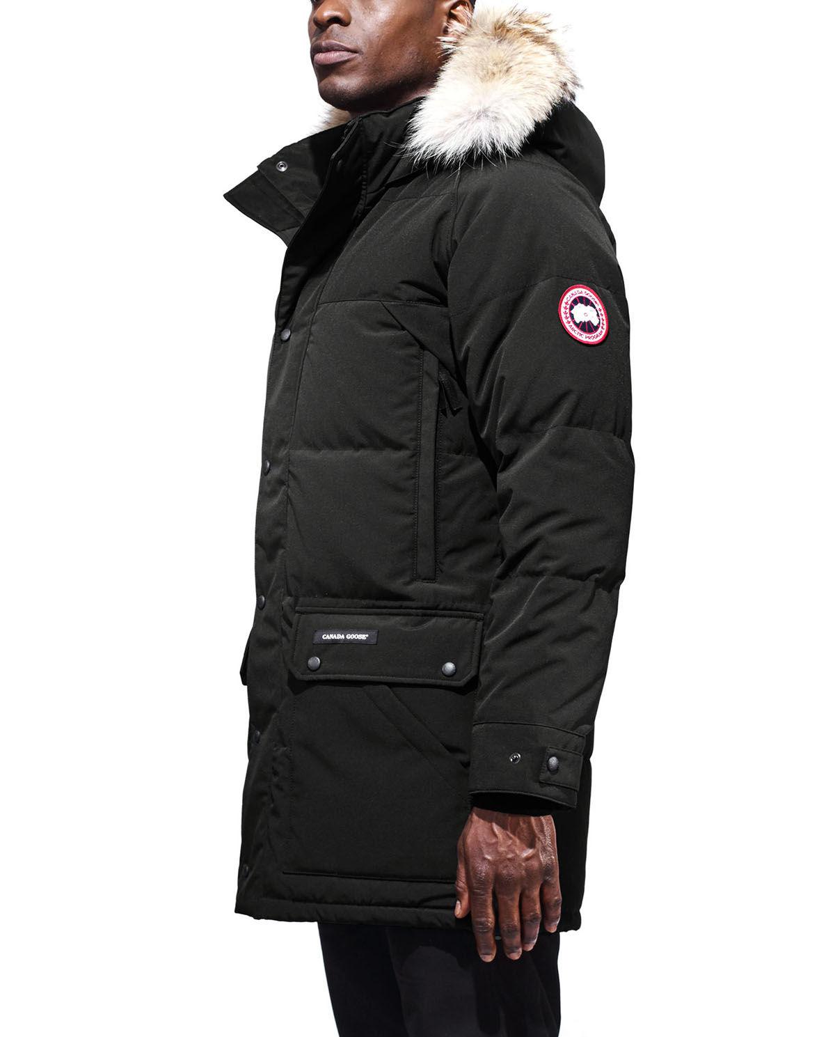 canada goose płaszcz pikowane