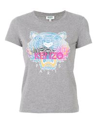 T-Shirt Tiger Rainbow