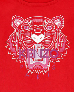 Czerwona bluzka Tiger