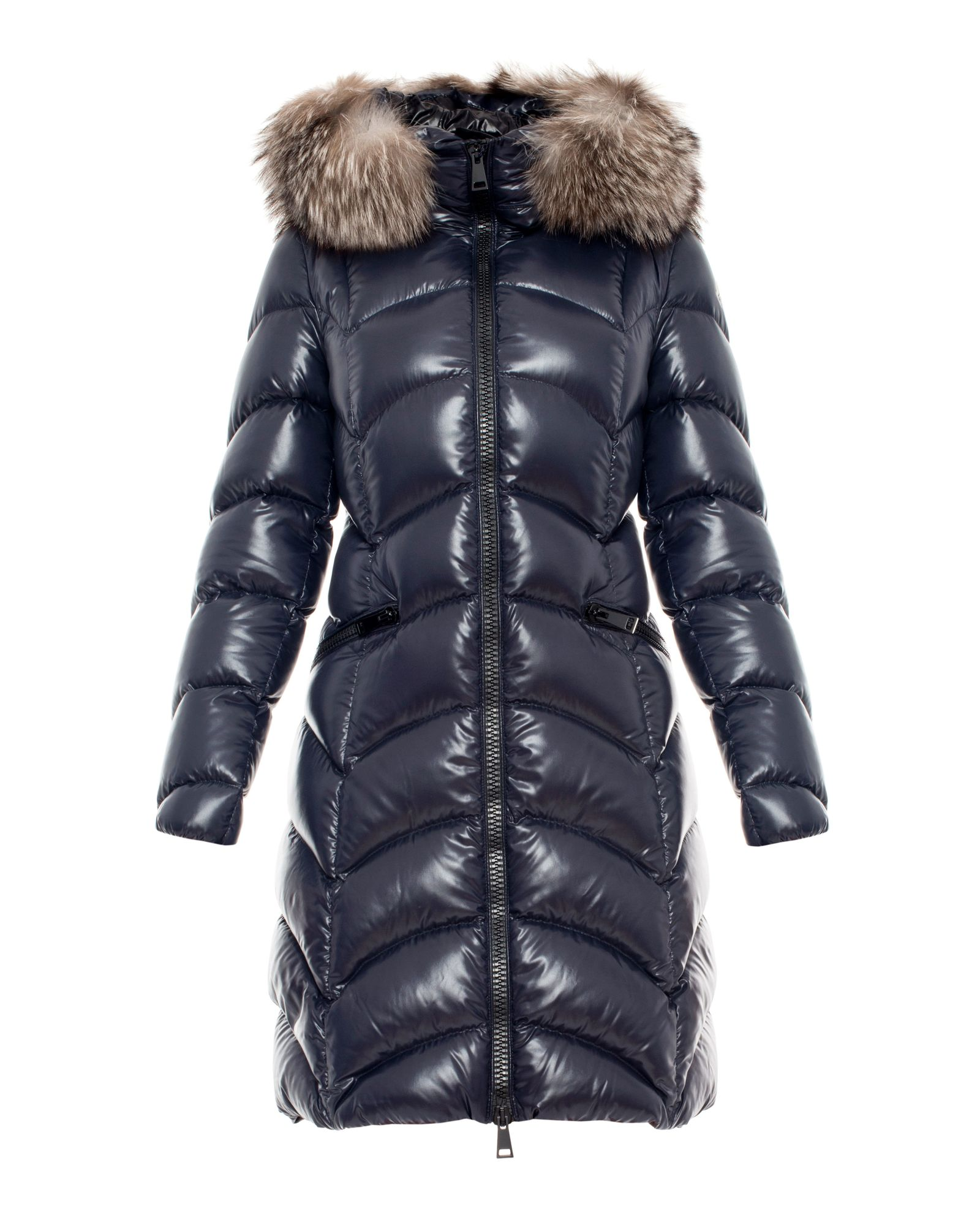 płaszcz moncler szare