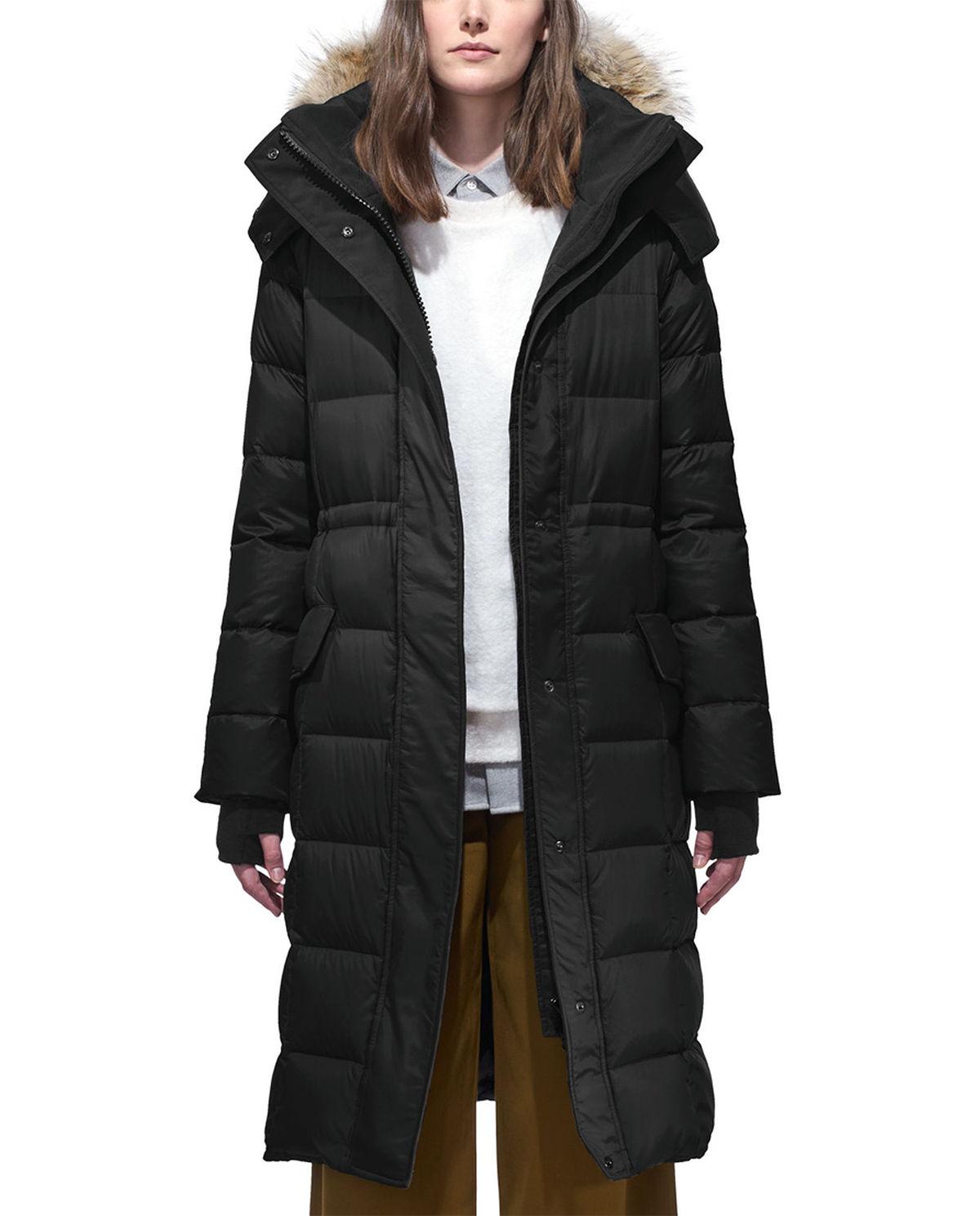 canada goose płaszcz damska