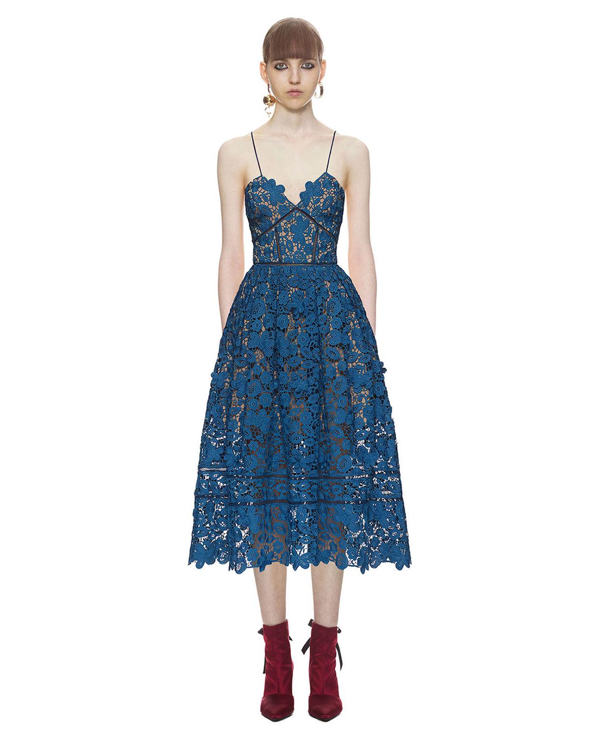 55cf6d6e63 Sukienka azaelea SELF PORTRAIT – Kup Teraz! Najlepsze ceny i opinie! Sklep  Moliera2.com