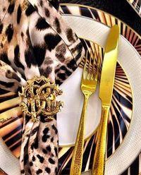 Zestaw 6 noży obiadowych