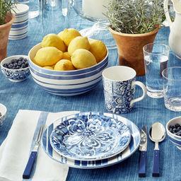 Talerz obiadowy Cote d'Azur Stripe