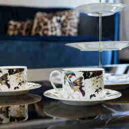 Zestaw 6 filiżanek do herbaty Garden Birds