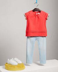 Czerwony T-Shirt 3-14 lat