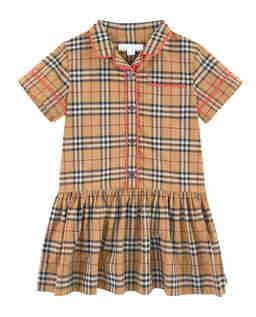 Sukienka w kratkę 4-12 lat