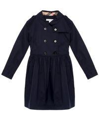 Trenczowa sukienka  4-12 lat