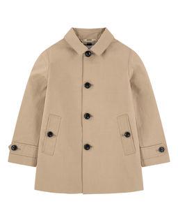 Beżowy płaszcz 3-14 lat