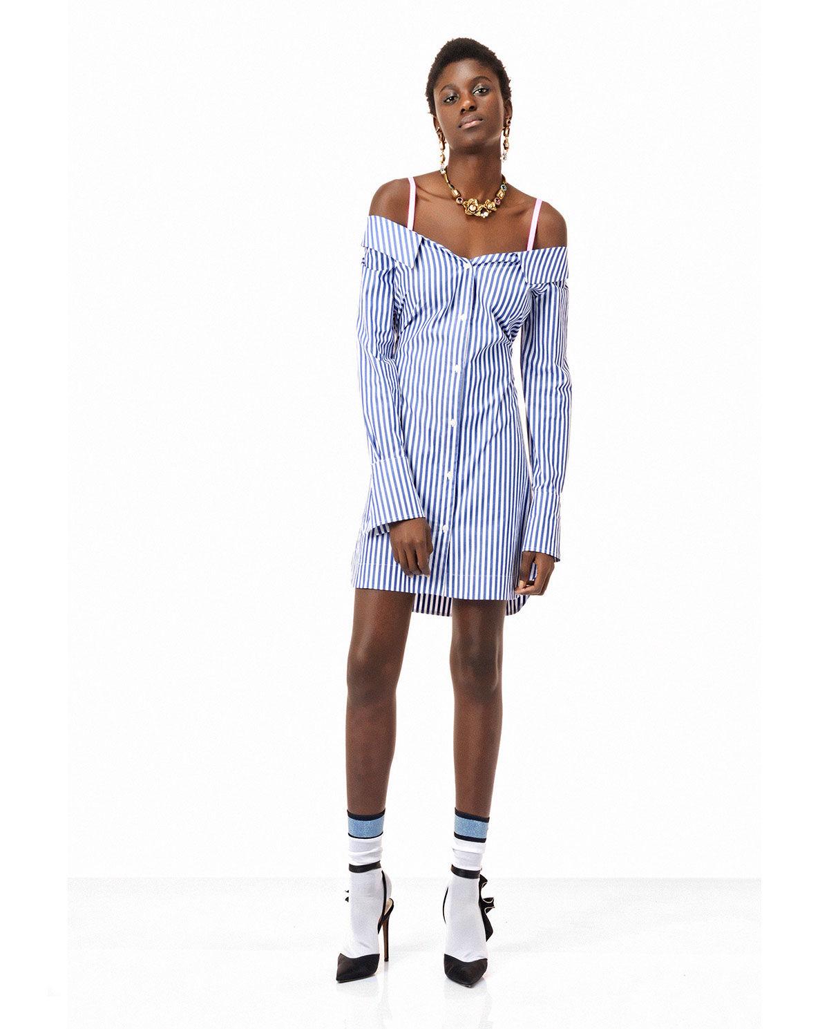 c630bb48 Koszulowa sukienka w paski PINKO – Kup Teraz! Najlepsze ceny i ...
