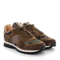 Sneakersy Camouflage Brown