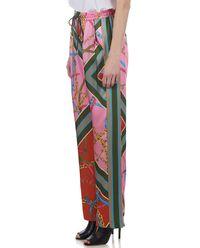 Spodnie z kolorowym nadrukiem