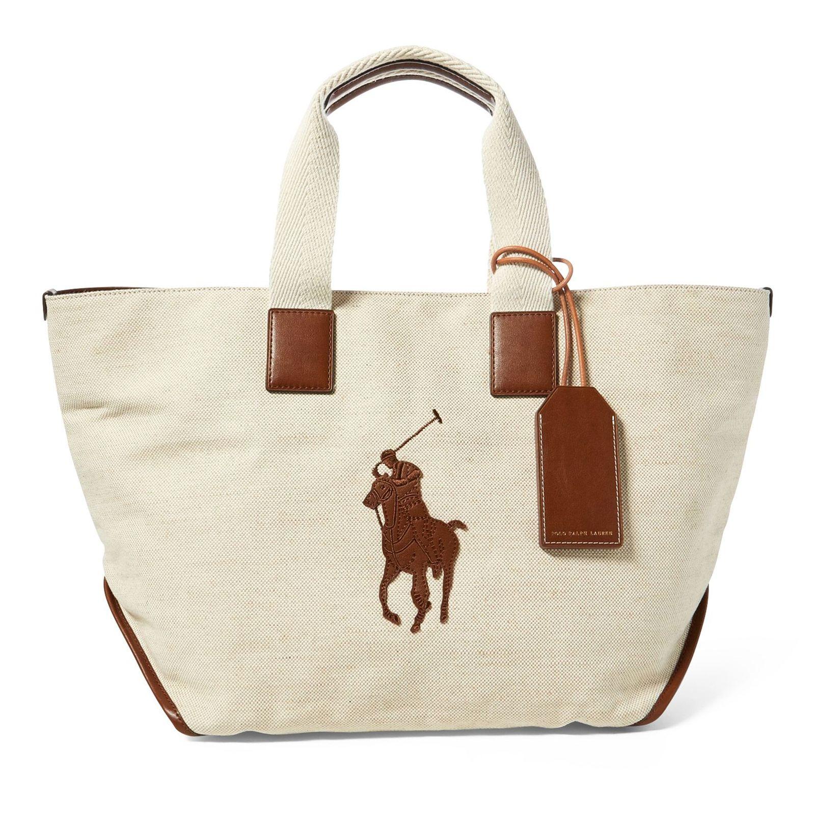 931c481260d41 Bawełniana torebka RALPH LAUREN – Kup Teraz! Najlepsze ceny i opinie! Sklep  Moliera2.com