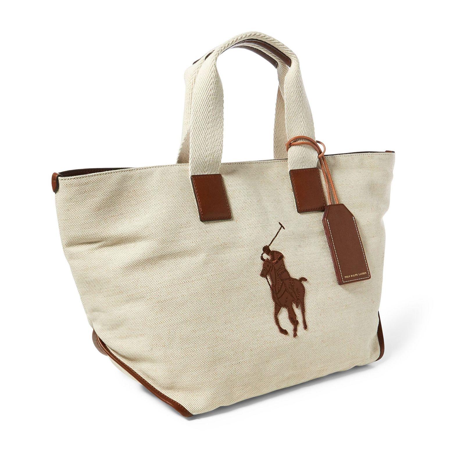 25e41c3b43eb5 Bawełniana torebka RALPH LAUREN – Kup Teraz! Najlepsze ceny i opinie ...