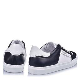 Kontrastowe sneakersy