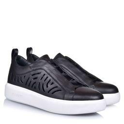 Sneakersy z wycięciami