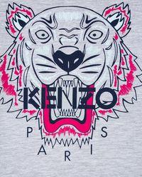 Szary T-shirt Tiger 0-3 lat