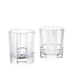 Zestaw dwóch kryształowych szklanek Mercer
