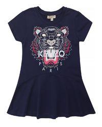 Granatowa Sukienka Tiger 4 - 16 lat