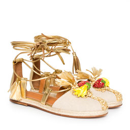 Espadrilky Strawberry Banana