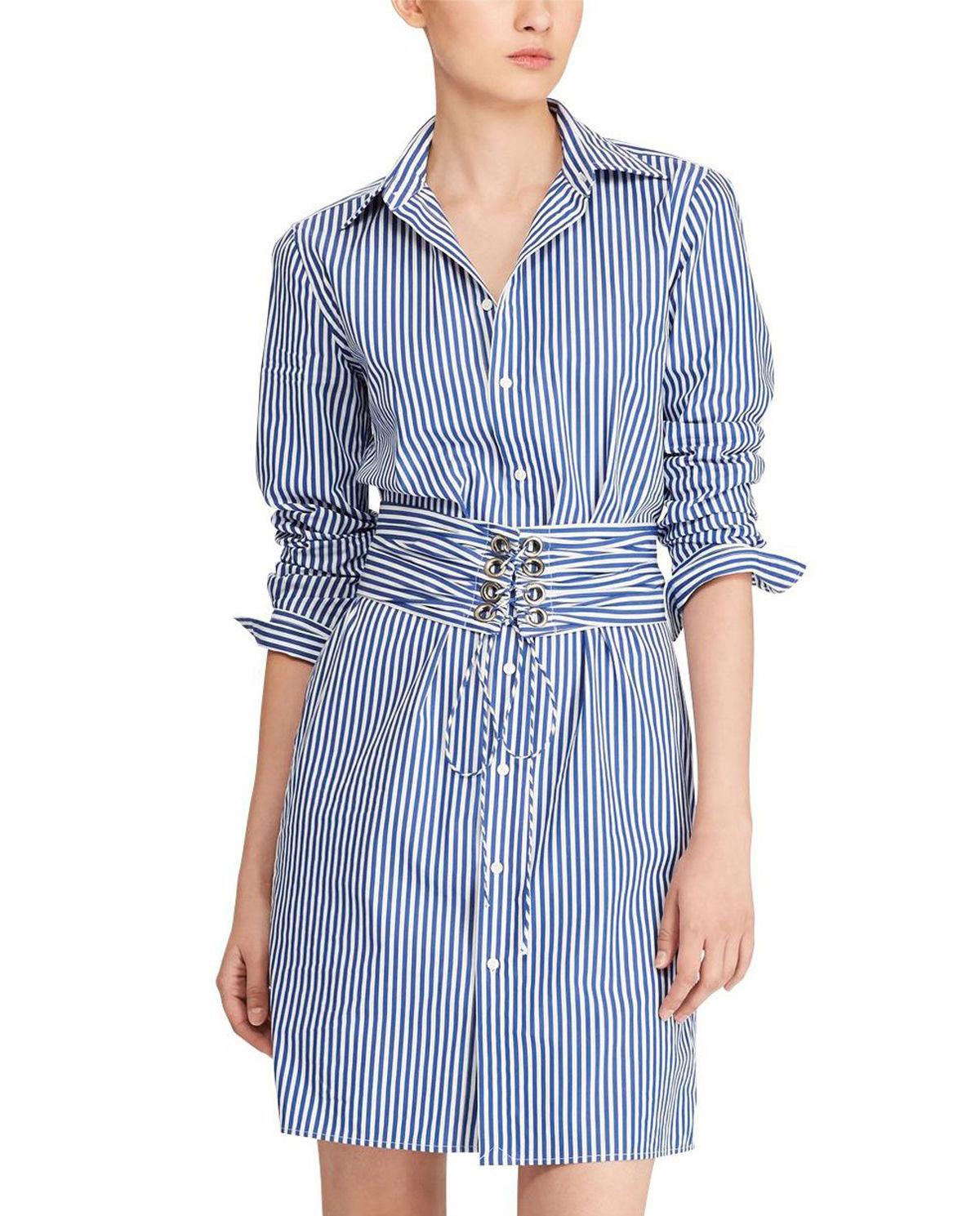 bb3d4ce0 Sukienka w paski RALPH LAUREN – Kup Teraz! Najlepsze ceny i opinie ...