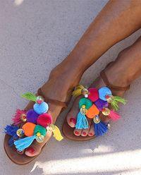Sandály Aquarela