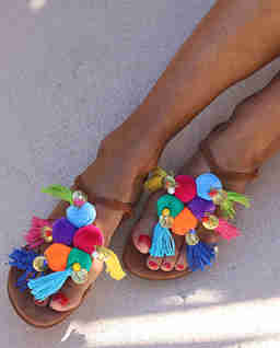 Sandały Aquarela