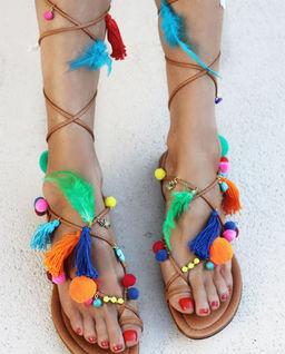 Sandały Gauguin