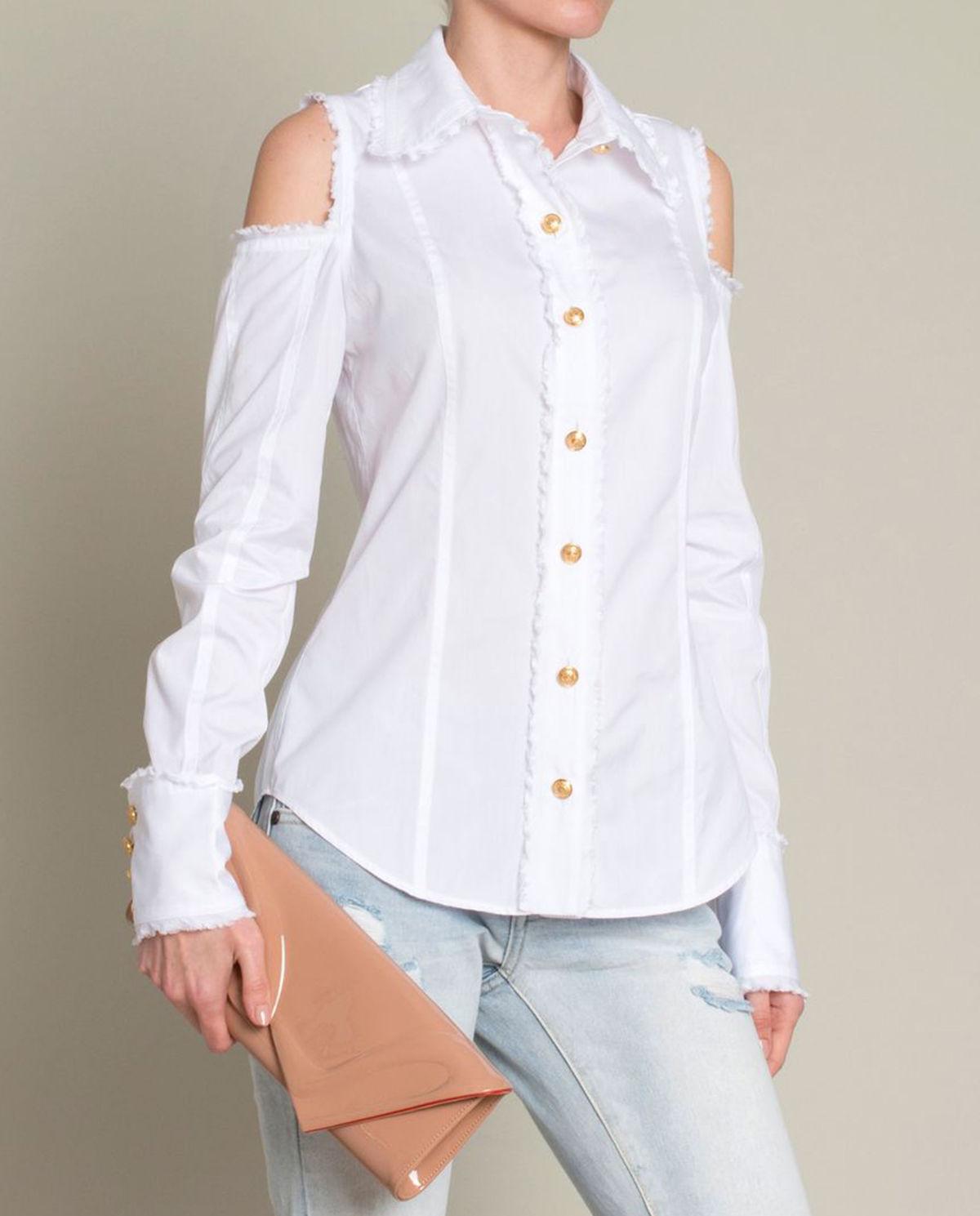 50d29c1384d555 Biała koszula BALMAIN – Kup Teraz! Najlepsze ceny i opinie! Sklep  Moliera2.com