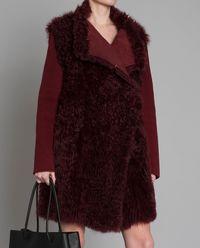 Płaszcz z kożuchem