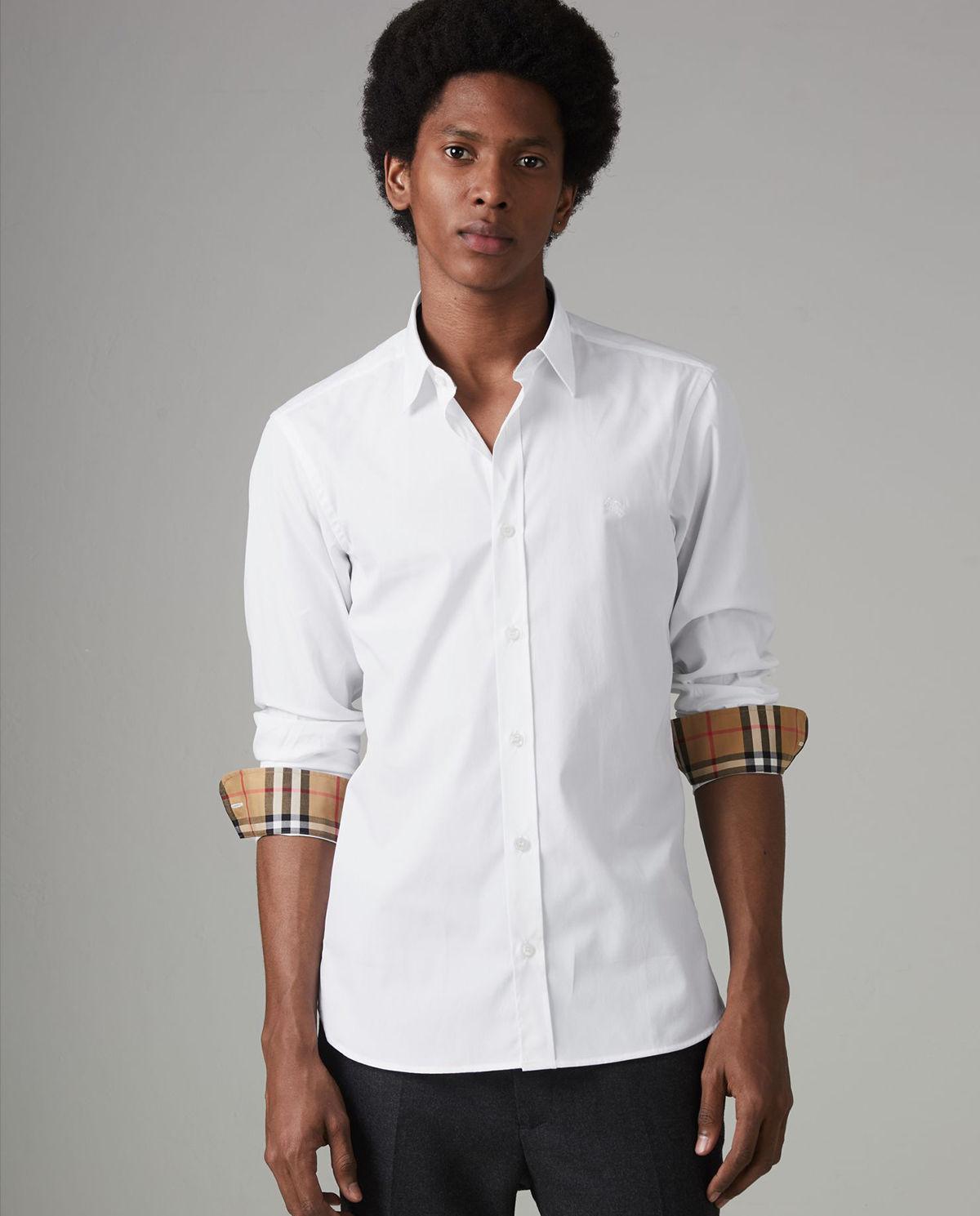 e75b714ac7bfd9 Biała koszula BURBERRY – Kup Teraz! Najlepsze ceny i opinie! Sklep  Moliera2.com