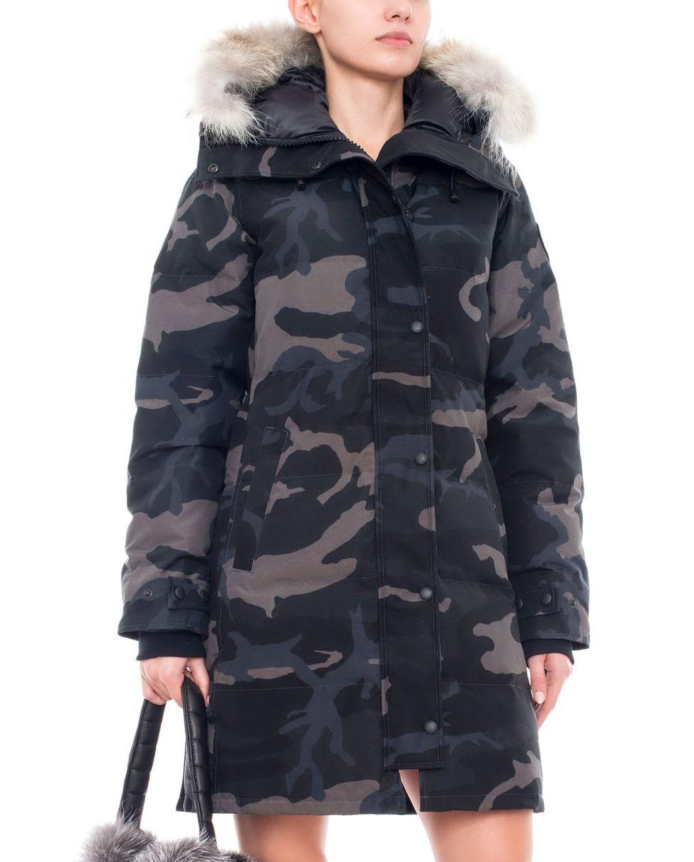 canada goose płaszcz beżowe