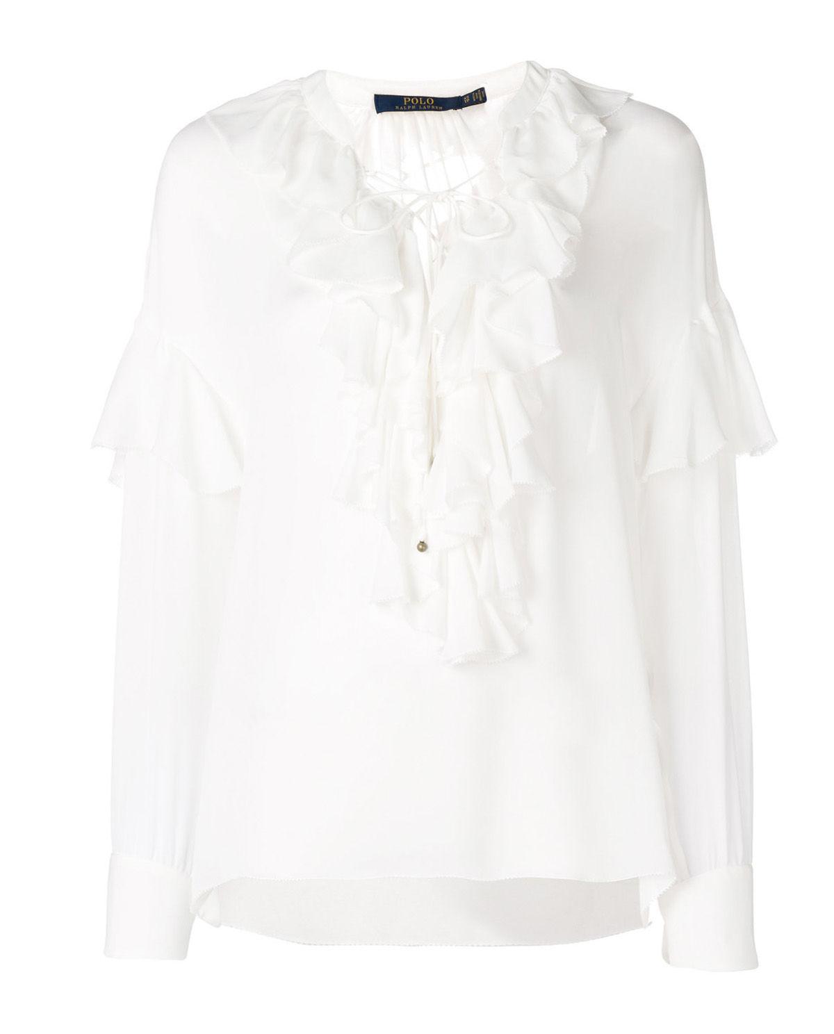 2c472b5f1 Jedwabna bluzka RALPH LAUREN – Kup Teraz! Najlepsze ceny i opinie ...